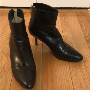 Jimmy Choo Black Leather Bootie